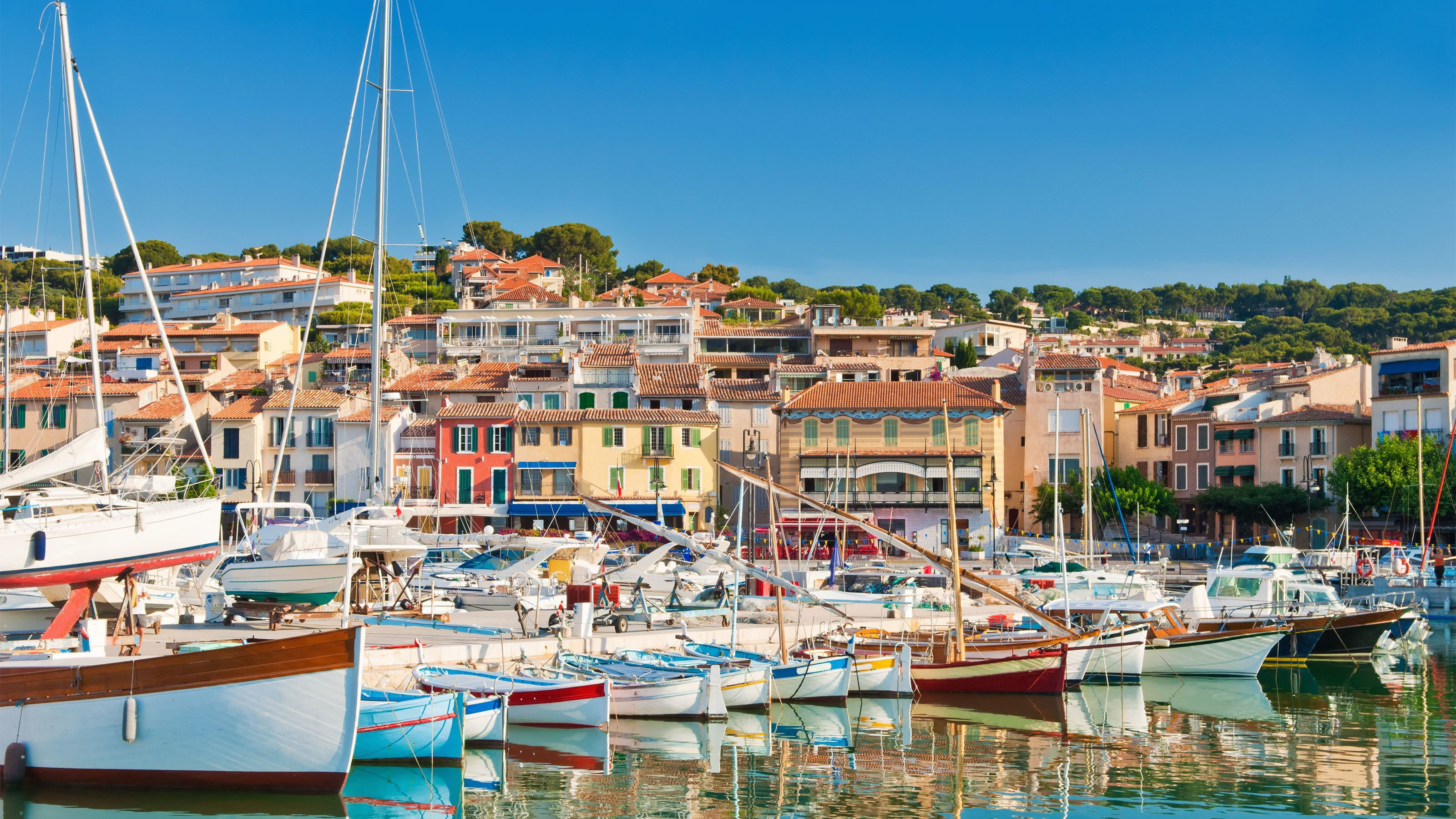 Stunning village of Cassis