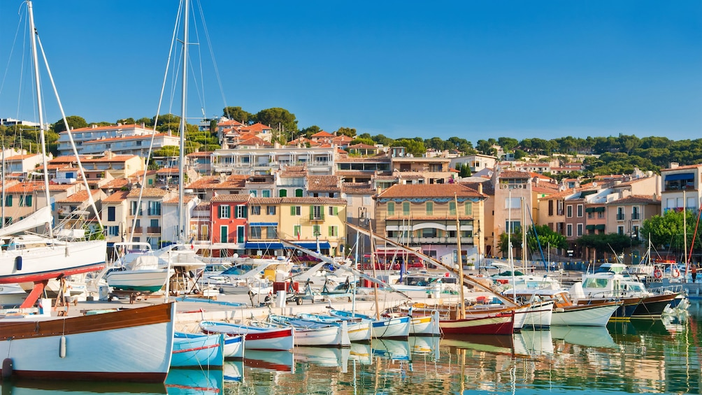 Show item 4 of 5. Stunning village of Cassis