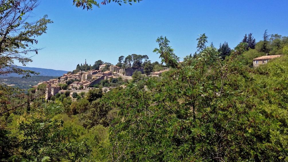 Show item 2 of 5. Hilltop village of Bonnieux nestled in a cedar forest in Aix-en-Provence