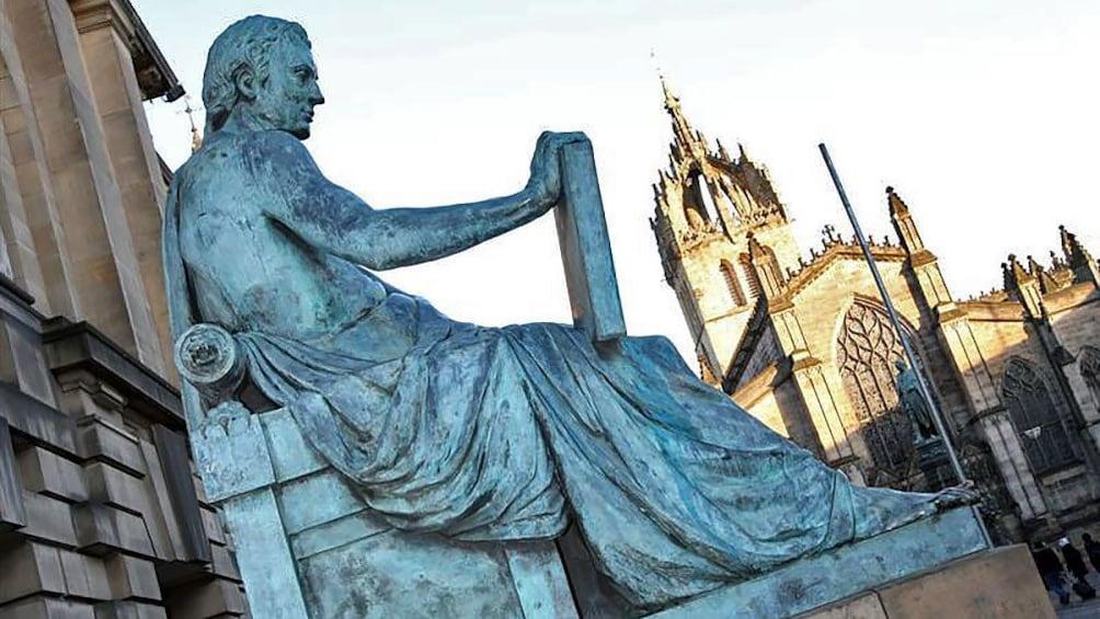 Show item 5 of 5. statue in Edinburgh