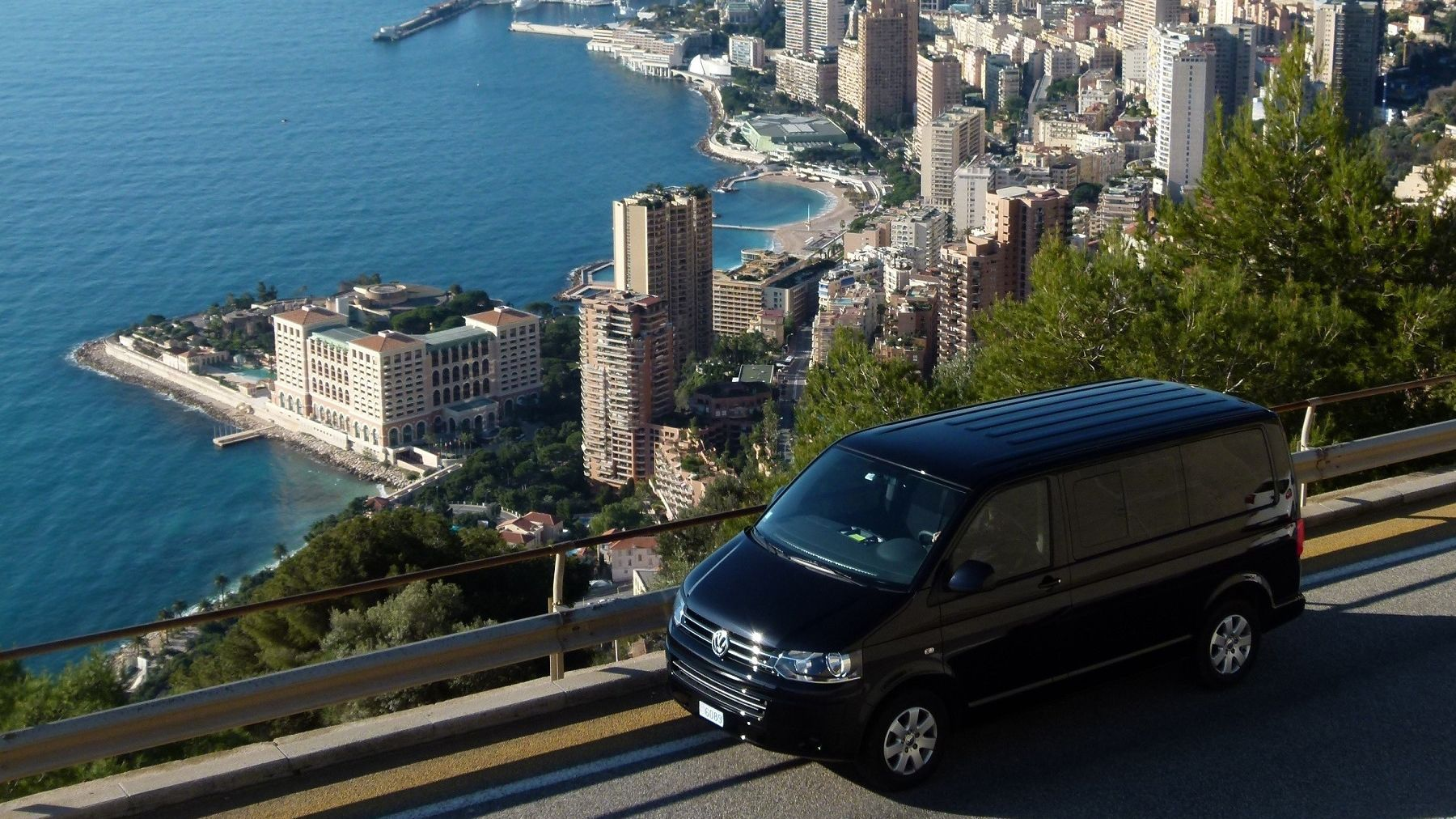 Venturing out the city by van in France