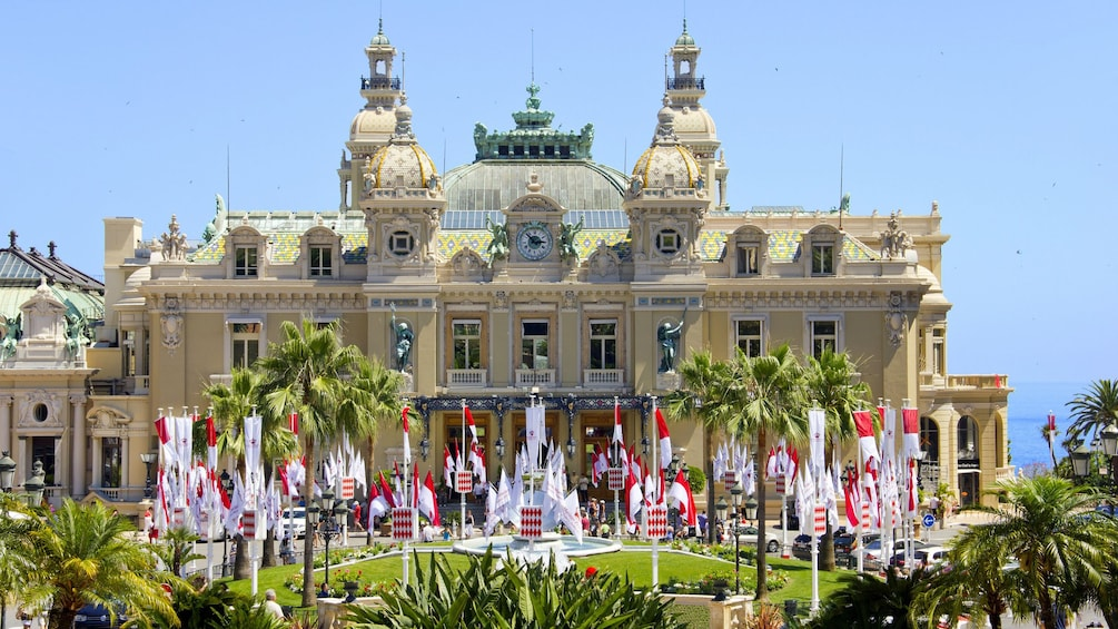 Show item 5 of 5. Visiting the Monte Carlo Casino in France