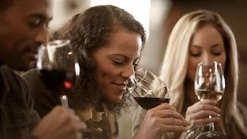 Dagexcursie naar het platteland en wijnmakerij in een kleine groep vanuit M...