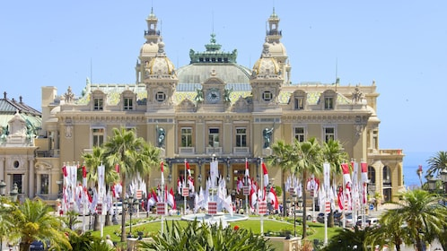 Visiting the casino in Monte Carlo