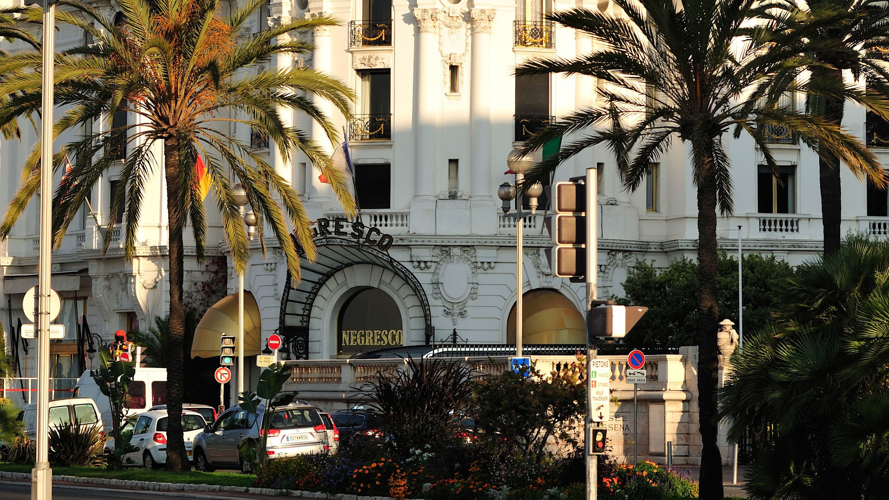 The Nigresco Hotel in Cannes