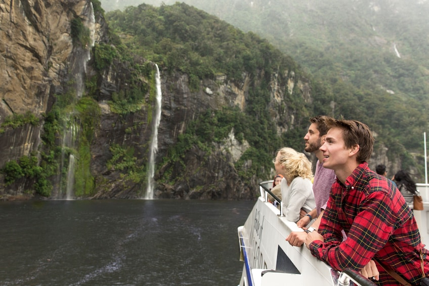 Show item 3 of 9. Milford Sound Nature Cruise