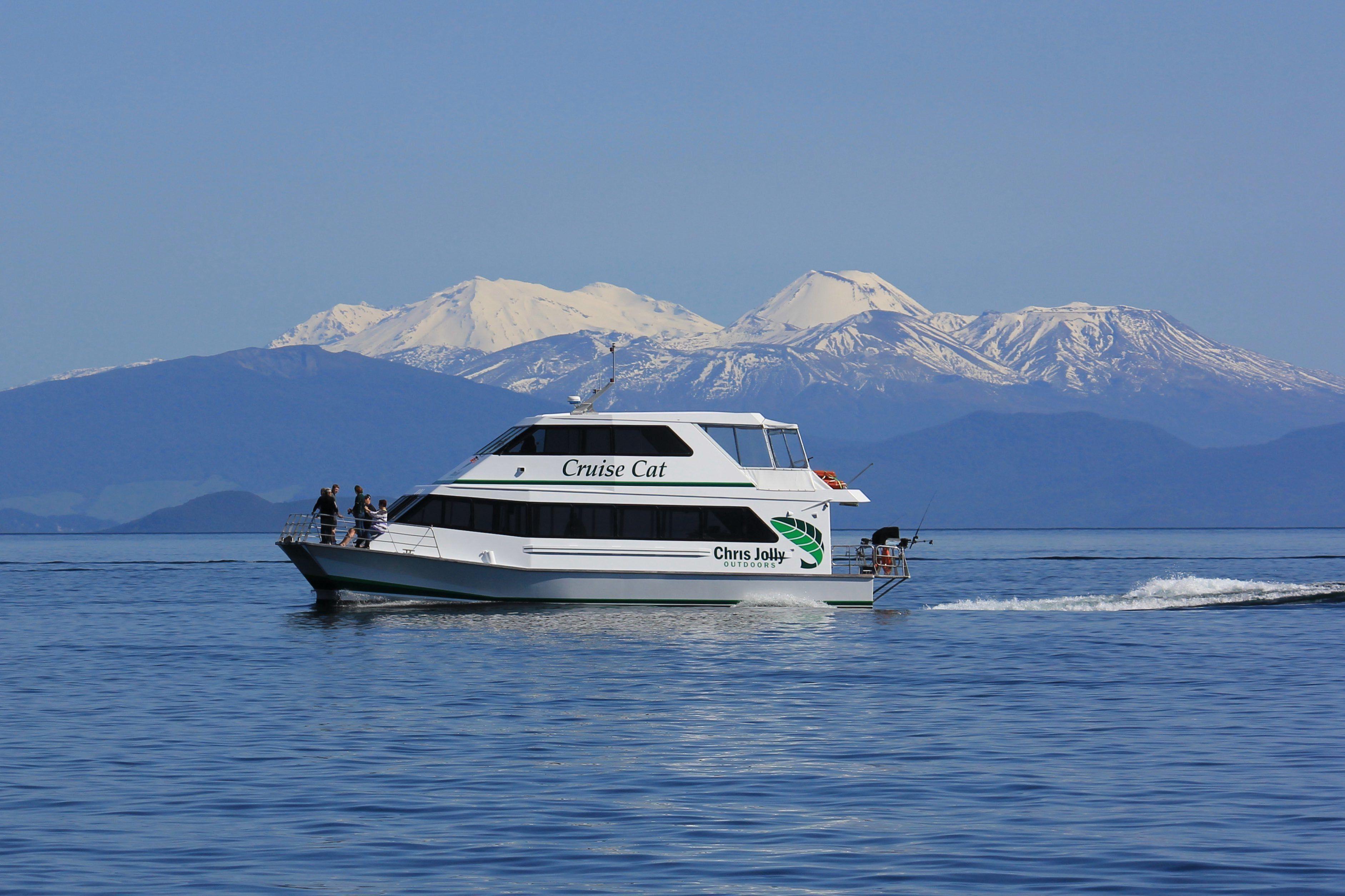 Lake Taupo Scenic Cruise