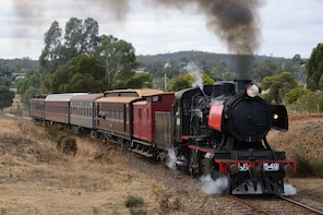 Victorian Goldfields Railway Steam Train Ride