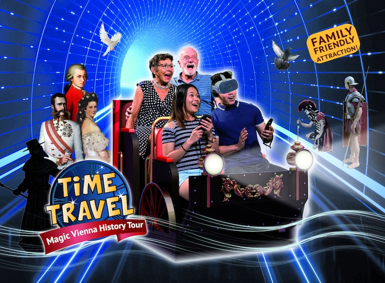 Show item 1 of 6. Time Travel Vienna - Magic Vienna History Tour