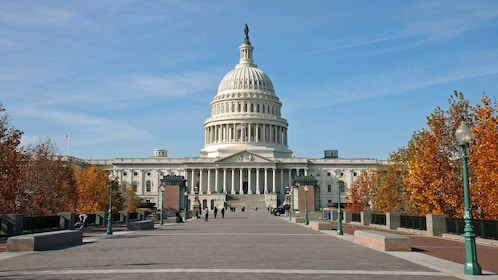 The United states capitol building in Washington D.C
