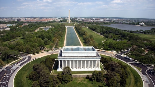 The national mall in Washington DC