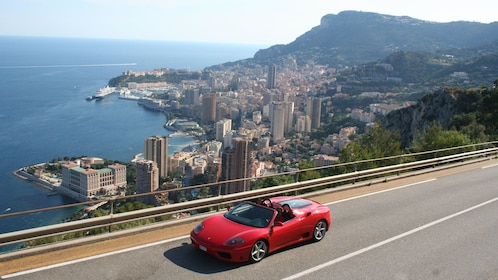 City view of a Ferrari Self-Drive with Professional Instruction in Monaco