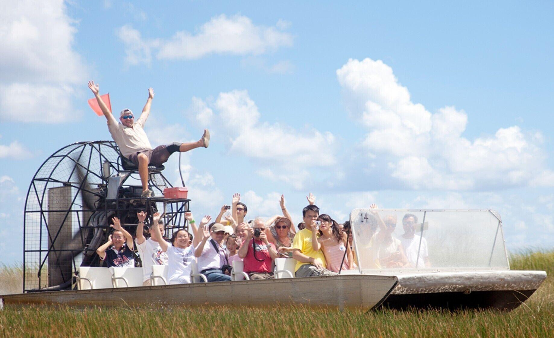 Avventura nelle Everglades Da Miami