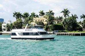 Båttur i Miami, med gratis drink