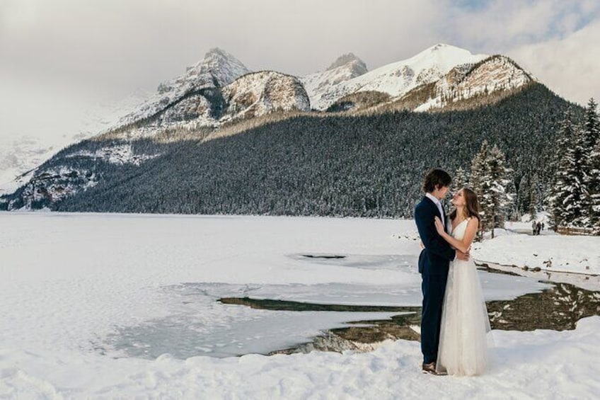 Show item 2 of 3. Lake Louise 60 Minute Mountain Portrait Experience
