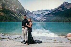Lake Louise 60 Minute Mountain Portrait Experience