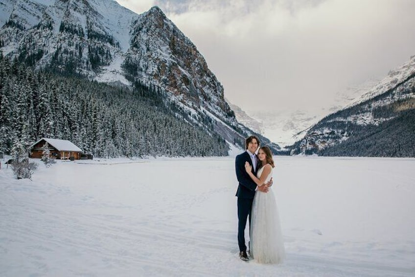 Show item 1 of 3. Lake Louise 60 Minute Mountain Portrait Experience