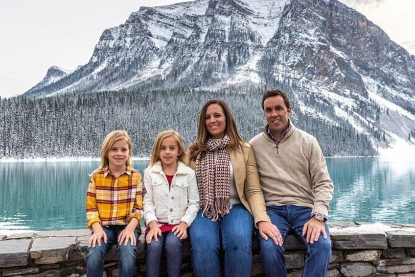 Show item 3 of 4. Lake Louise 30 Minute Mountain Portrait Experience