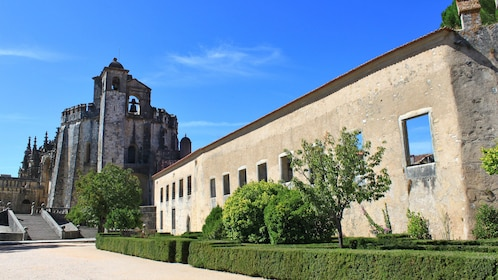 visit the Convent of Christ monastery in Portugal