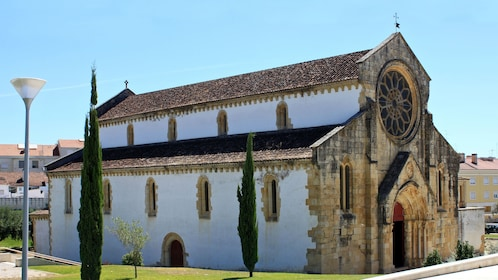 discovering the Church of Santa Maria do Olival in Portugal