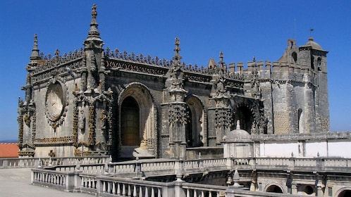 The Convent of Christ monastery in Portugal