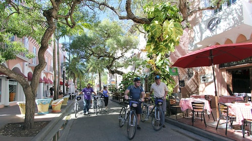 Miami's Art Deco District is one of the landmarks featured on the South Beach Bike Tour