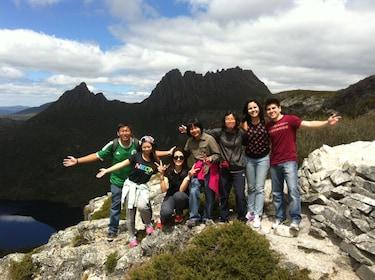 Atop Marions Lookout - Cradle Mountain NP c.JPG