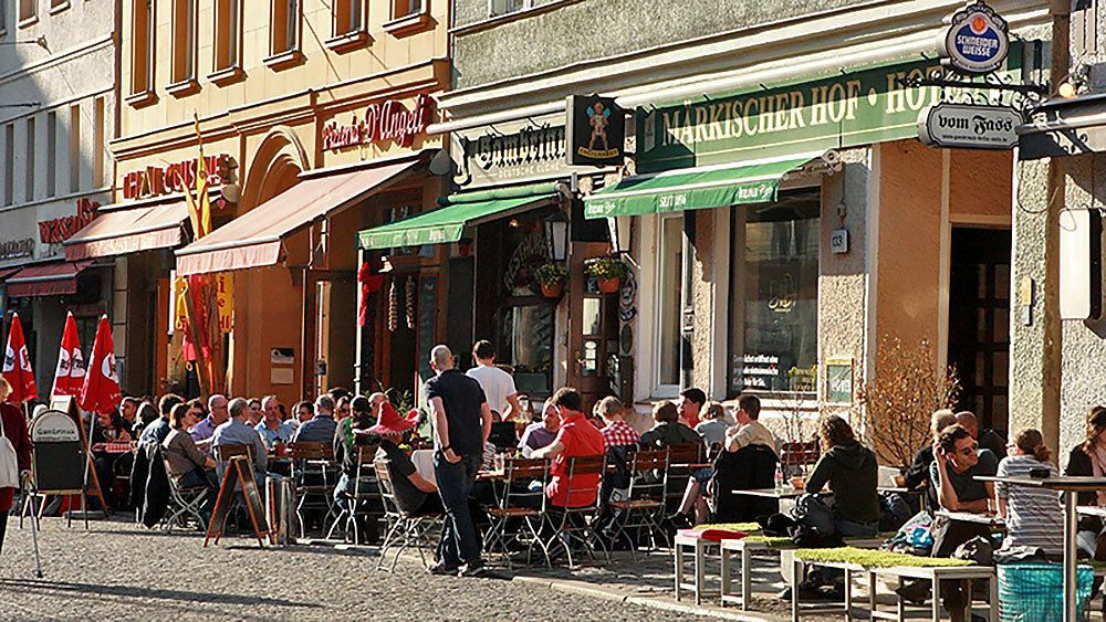 Bars and cafes in Berlin