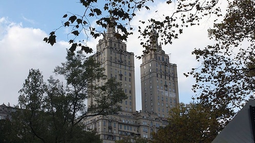 The towers of The Eldorado building near Central Park in New York City