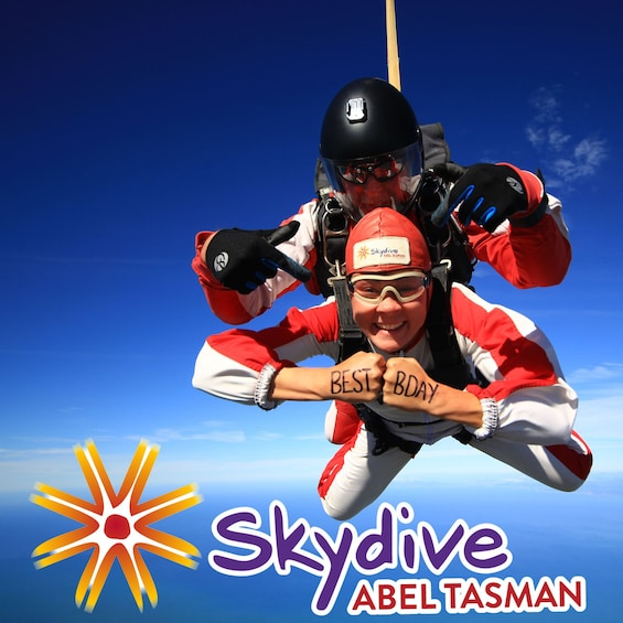 Show item 4 of 4. Tandem skydiving in New Zealand