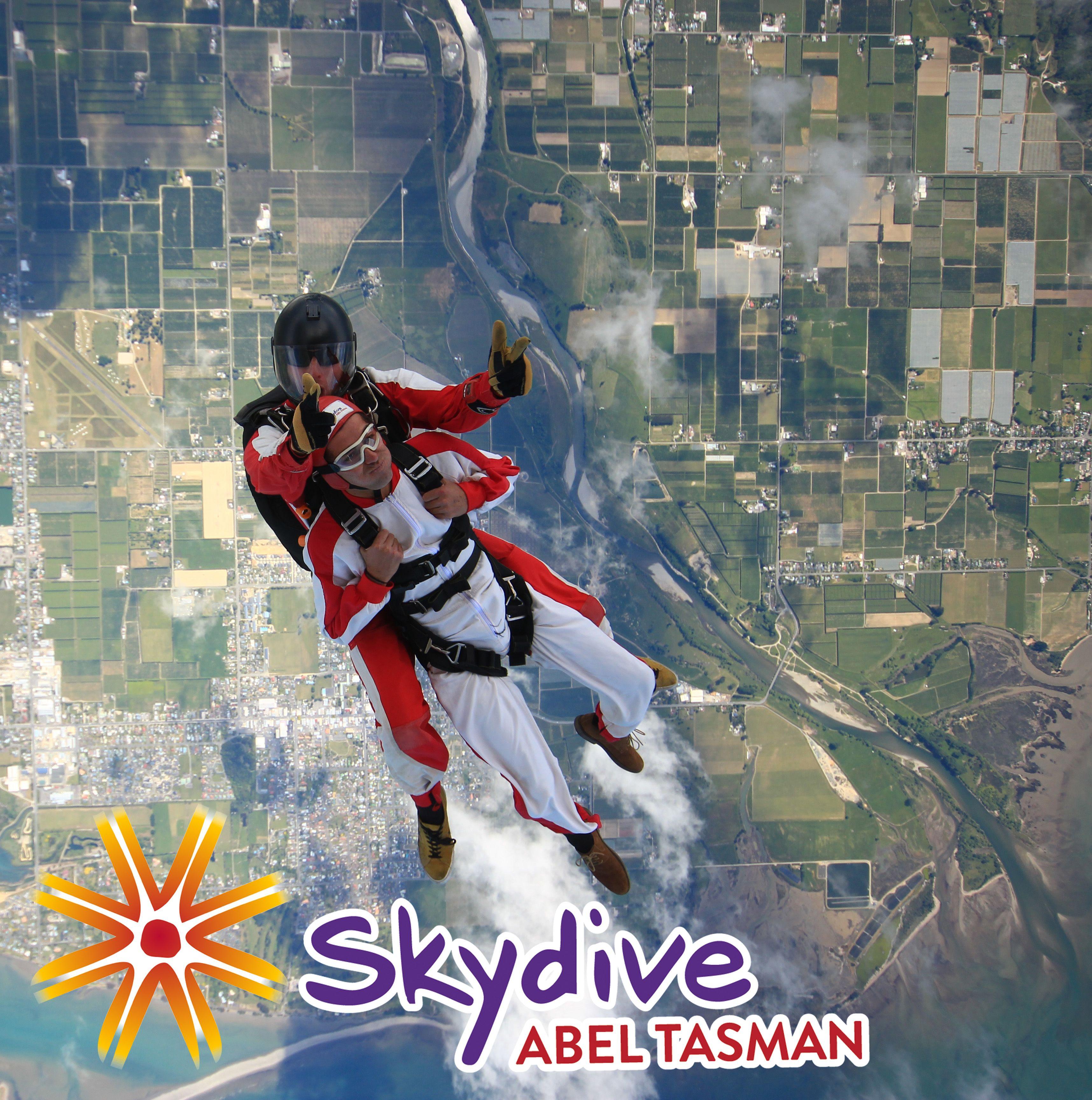 Skydive Abel Tasman Tandem Skydive