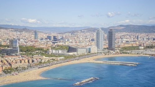 Helicopter Flight, Walking&Boat Tour BCN Premium Small Group