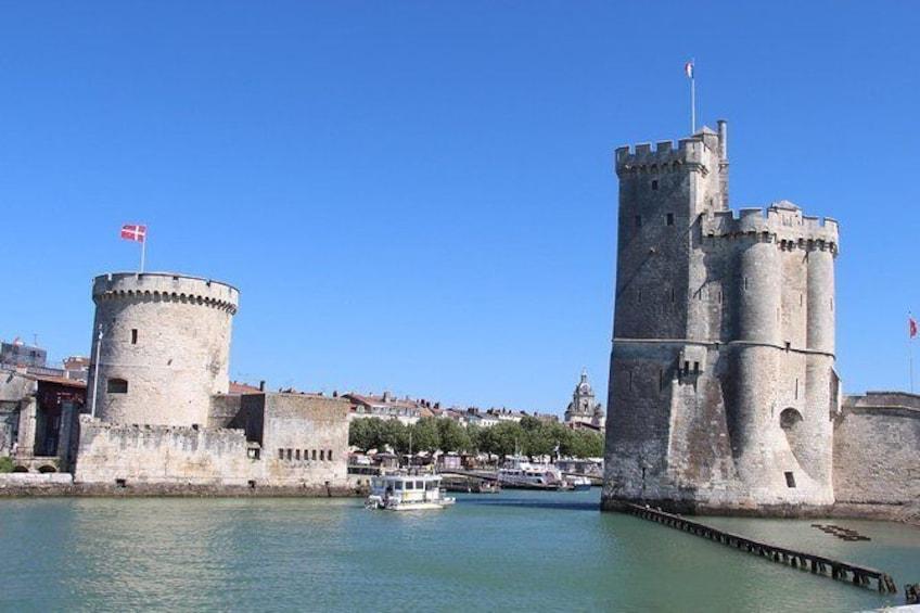 Visite guidée privée à pied de La Rochelle