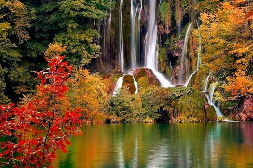 Show item 5 of 8. Private transfer from Split or Trogir to Zagreb and Plitvice