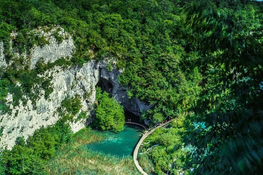 Show item 4 of 8. Private transfer from Split or Trogir to Zagreb & Plitvice