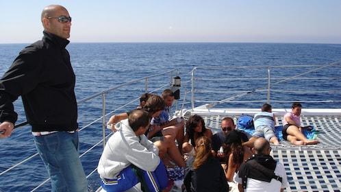 Catamaran in Ibiza