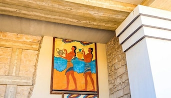 VIP Zeus Cave & Knossos Palace Chauffeured Tour from Chania
