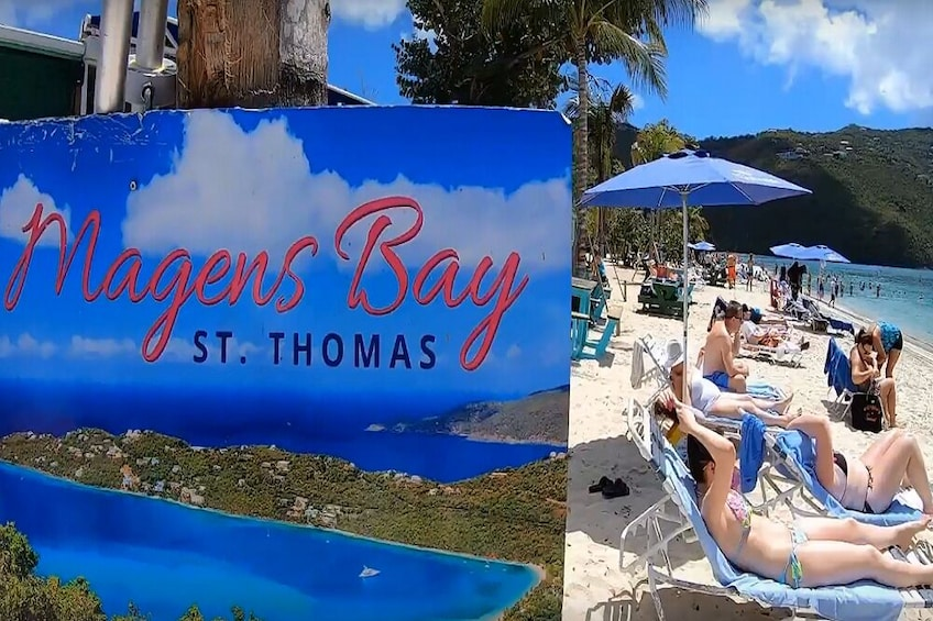 Show item 3 of 9. Budget Magens Bay Beach Run