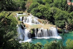 Private tour to Krka Waterfalls from Split or Trogir