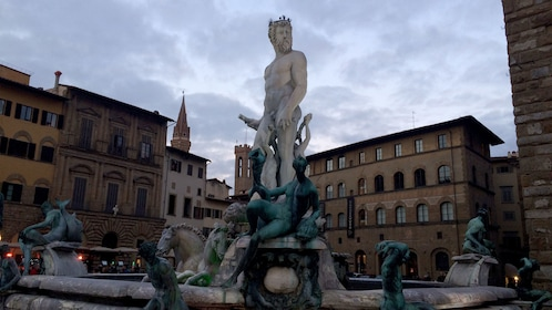 Water fountain in Florence