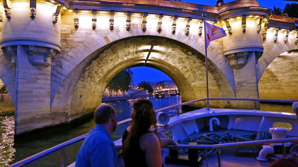 Show item 1 of 5. Seine River bridge in Paris