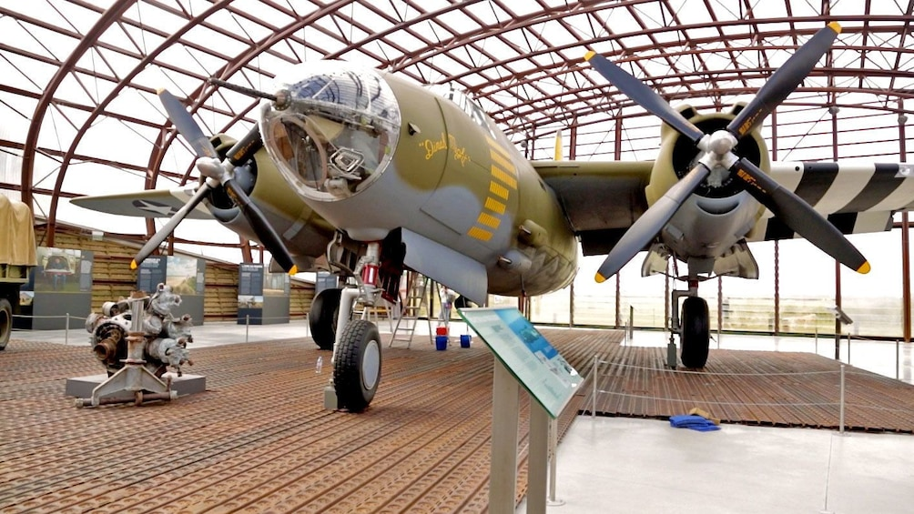 Show item 3 of 6. Old war plane in Normandy France