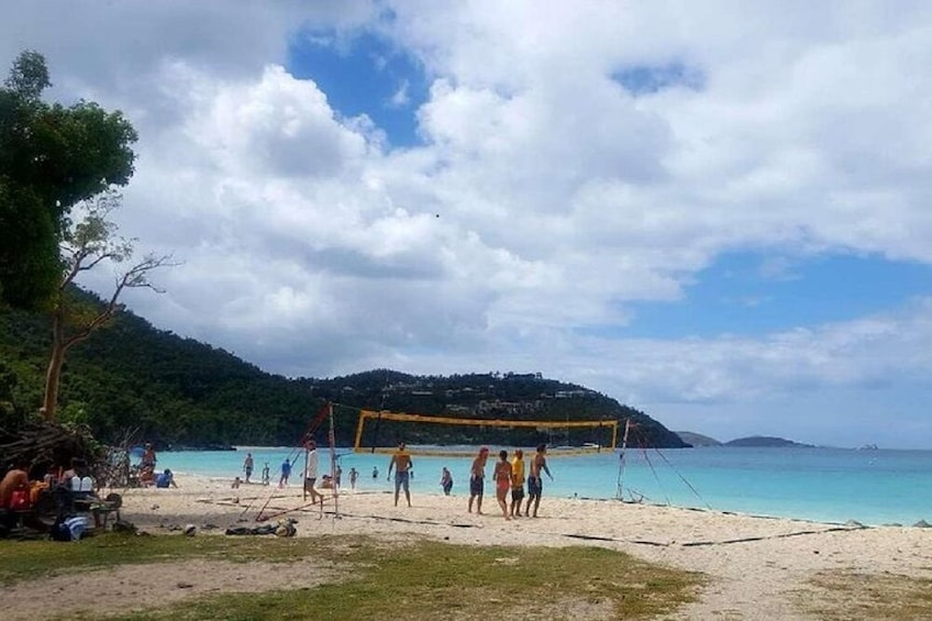 Show item 7 of 7. Half-Day Tour to Trunk Bay Beach from St. Thomas