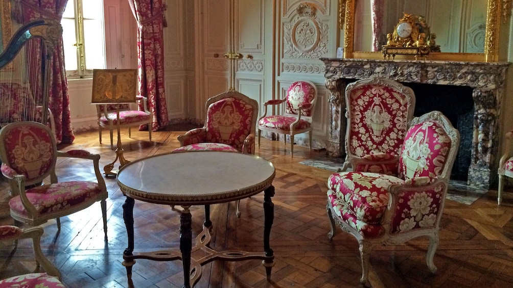 Show item 2 of 7. Furnished room of Palace of Versailles in Paris