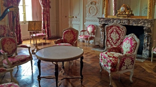 Furnished room of Palace of Versailles in Paris