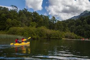 Kayak through Encanto Lagoon