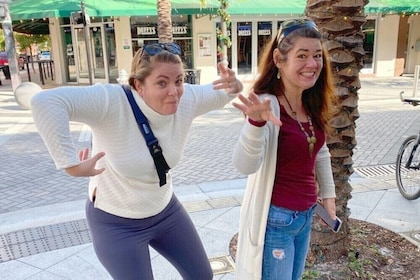 Wacky Interactive Self-Guided Walking Tour of Florida
