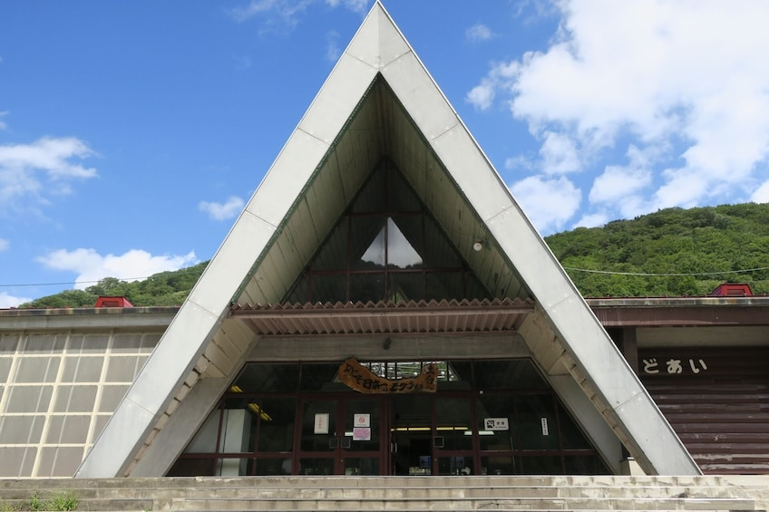 Show item 4 of 7. A-Frame building in Japan