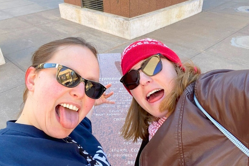 Show item 2 of 6. Crazy Interactive Self-Guided Walking Tour of Kansas