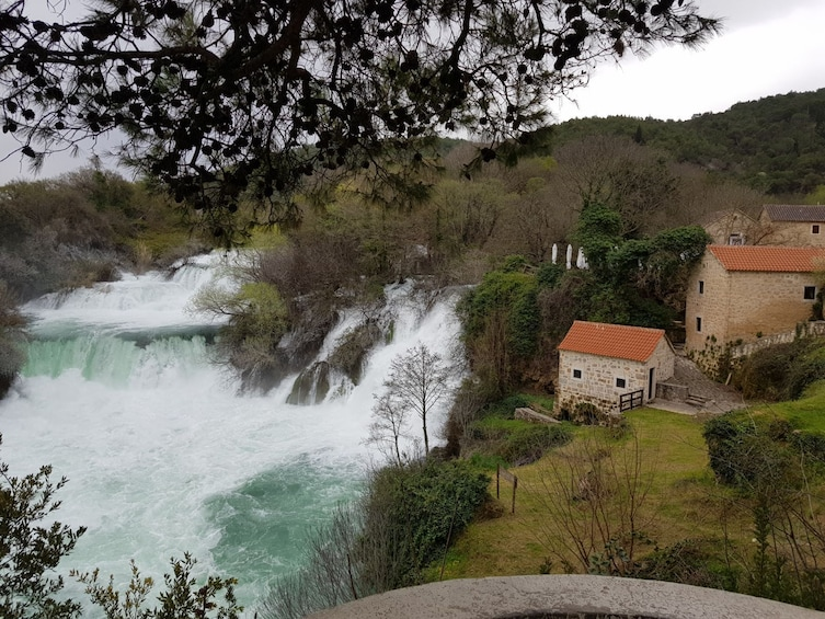 Show item 3 of 8. Exclusive Private Tour: Krka Waterfalls & Wine Tasting